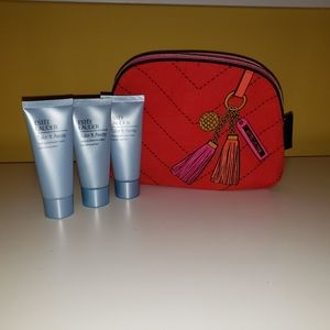 Estee Lauder makeup remover with bag